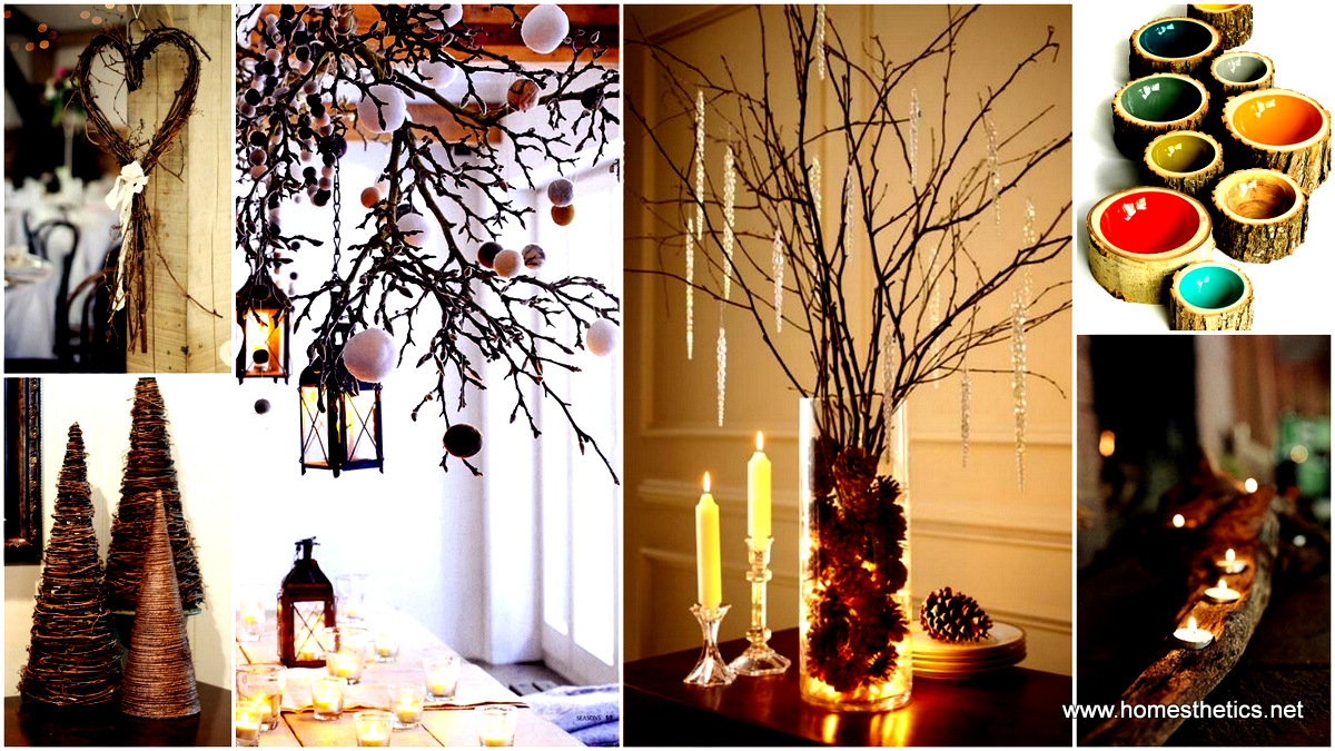 DIY Crafts from Branches and Logs