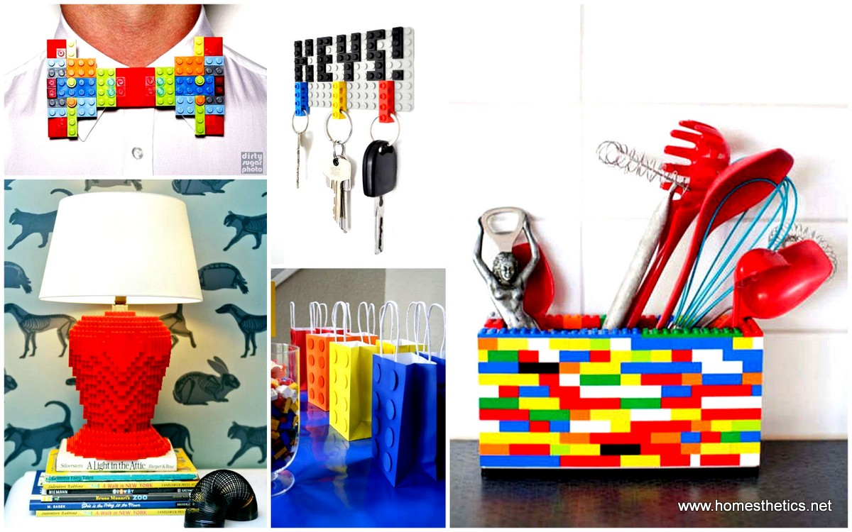 29 Smart And Highly Creative DIY Lego Crafts That Will
