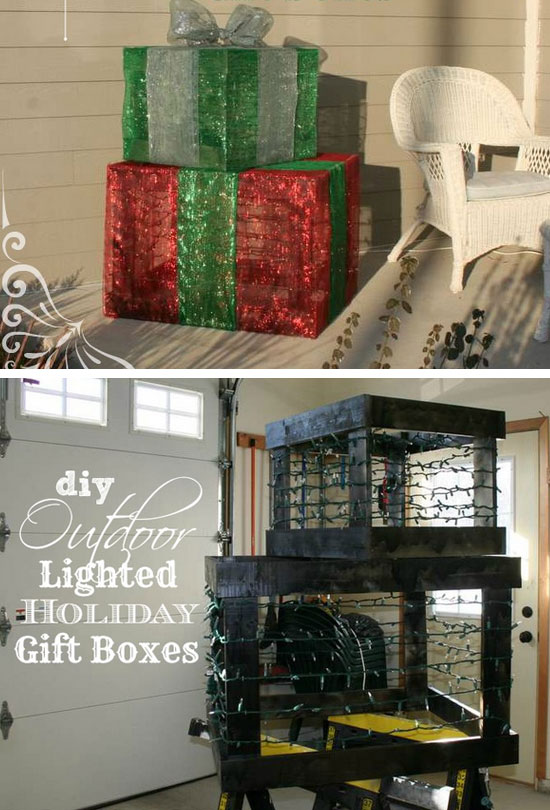 Diy Outdoor Christmas Decorating Ideas