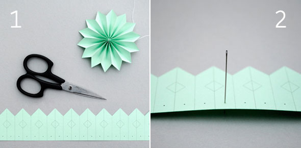 DIY Paper Medallions Miniaturized & DIY Paper Snowflakes Here To Beautify Your Holidays [Detailed Guide] homesthetics (13)