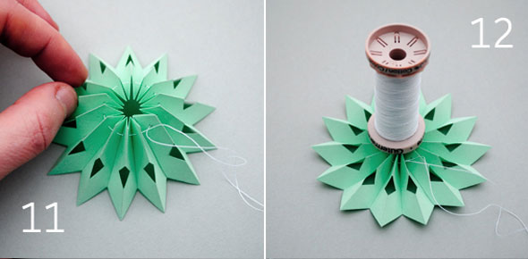 DIY Paper Medallions Miniaturized & DIY Paper Snowflakes Here To Beautify Your Holidays [Detailed Guide] homesthetics (18)