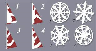 DIY Paper Medallions Miniaturized & DIY Paper Snowflakes Here To ...
