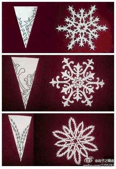 diy paper medallions miniaturized diy paper snowflakes here to beautify your holidays. Black Bedroom Furniture Sets. Home Design Ideas