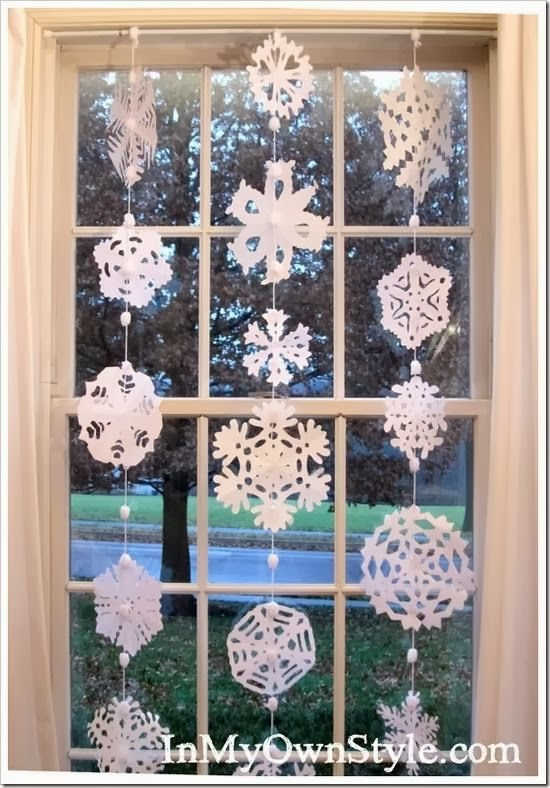 DIY Paper Medallions Miniaturized & DIY Paper Snowflakes Here To Beautify Your Holidays [Detailed Guide] homesthetics (6)