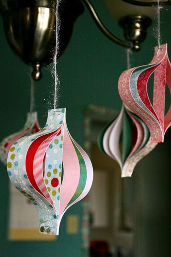 Decorate Your Christmas Tree With Beautiful Paper Ornaments  Homesthetics  (31)