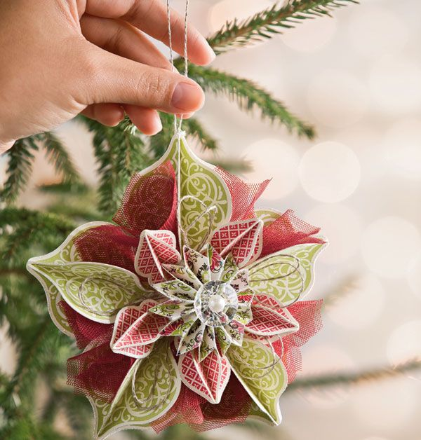 Decorate Your Christmas Tree With Beautiful DIY Paper ...