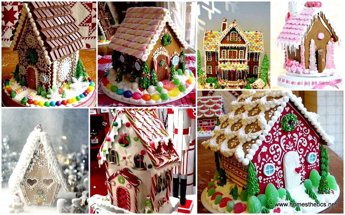 Gingerbread Christmas Kitchen Decorations