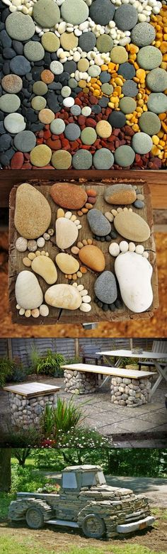 From River Stone Mats to Tic Tac Toe-DIY Stone Projects You Can Try Right Now -homesthetics (14)