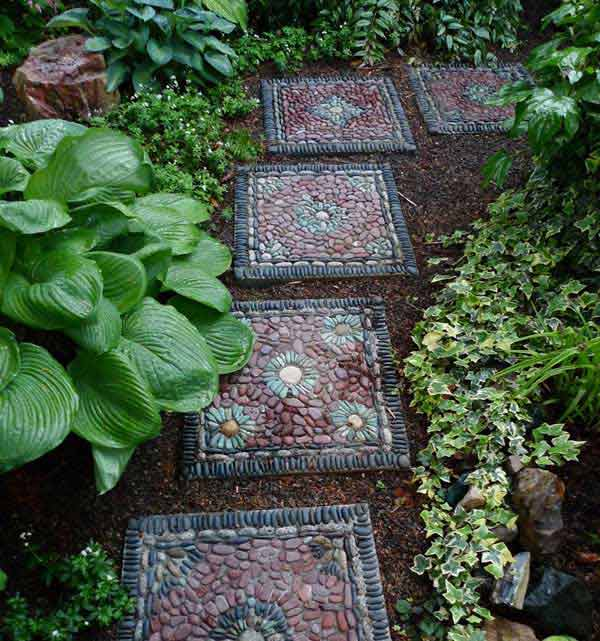 From River Stone Mats to Tic Tac Toe-DIY Stone Projects You Can Try Right Now -homesthetics (19)