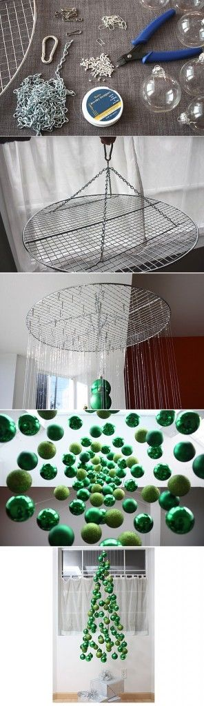 Get Ahead and Prepare for Christmas With These 31 Magic DIY Christmas Decorations homesthetics (15)