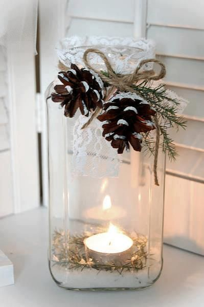 Get Ahead and Prepare for Christmas With These 31 Magic DIY Christmas Decorations homesthetics (28)