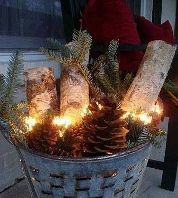 Get Ahead and Prepare for Christmas With These 31 Magic DIY Christmas Decorations homesthetics (30)
