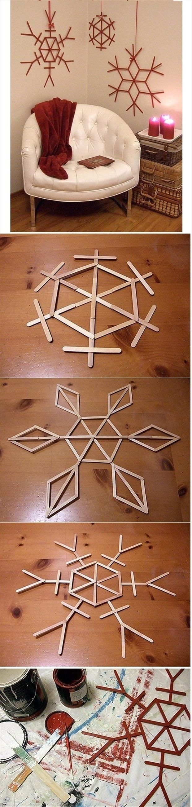 Get Ahead and Prepare for Christmas With These 31 Magic DIY Christmas Decorations homesthetics (5)