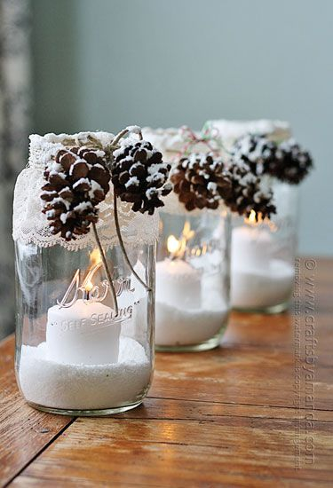 get in the christmas spirit with these magical candle holders projects homesthetics 14 - Christmas Candle Holders Decorations