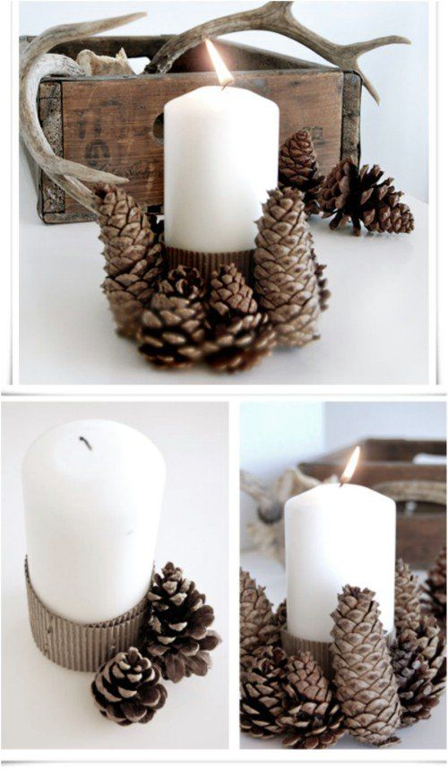 Get In The Christmas Spirit With These Magical DIY Candle Holders Projects-homesthetics (22)