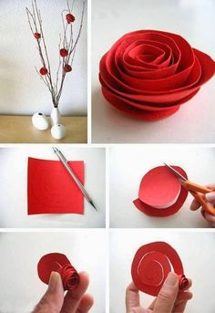 Ingenious Methods of Creating Insanely Beautiful DIY Paper Roses and Transform Your Decor homesthetics (6)
