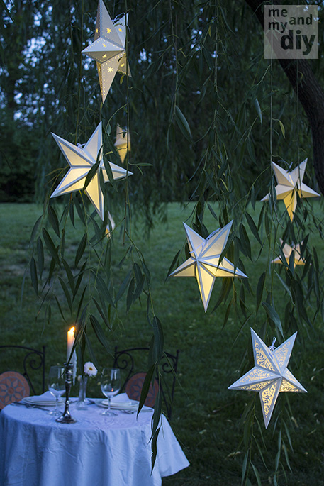 Mindblowing Beautiful Star-Shaped DIY Paper Lanterns That Will Beautify Your Special Moments homesthetics (23)
