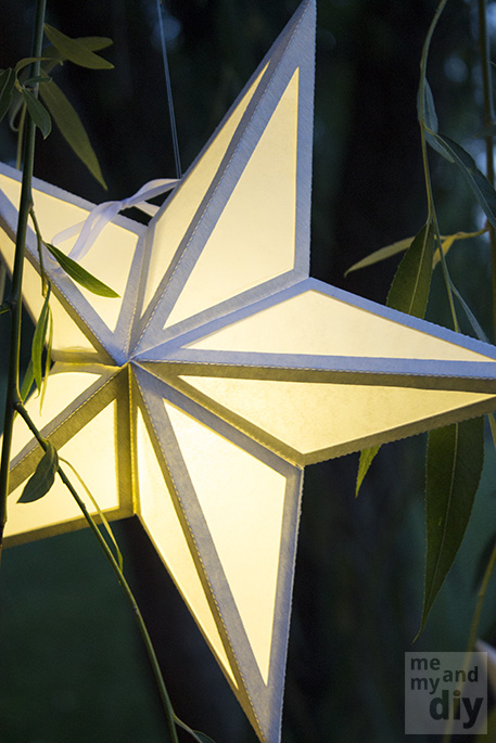 Mindblowing Beautiful Star-Shaped DIY Paper Lanterns That Will Beautify Your Special Moments homesthetics (25)