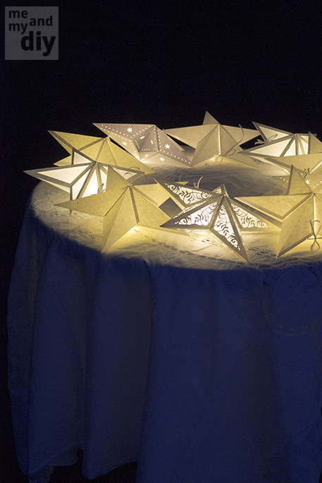 Mindblowing Beautiful Star-Shaped DIY Paper Lanterns That Will Beautify Your Special Moments homesthetics (28)
