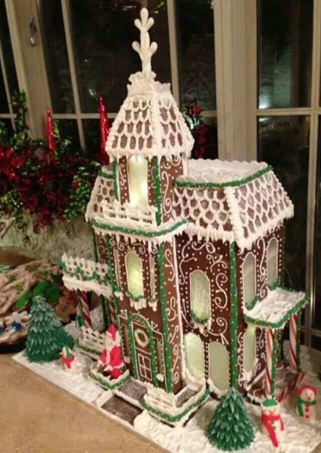 Sweet christmas inspiration served by 50 jaw dropping diy sweet christmas inspiration served by jaw dropping diy gingerbread houses homesthetics 15 solutioingenieria Choice Image