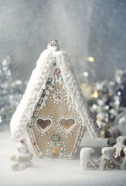 Sweet Christmas Inspiration Served by Jaw Dropping DIY Gingerbread Houses homesthetics (16)