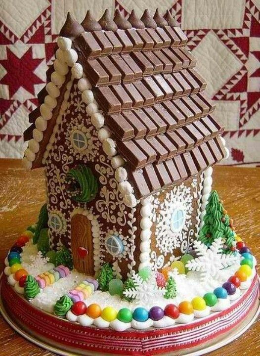 Sweet christmas inspiration served by 50 jaw dropping diy sweet christmas inspiration served by jaw dropping diy gingerbread houses homesthetics 17 solutioingenieria Choice Image