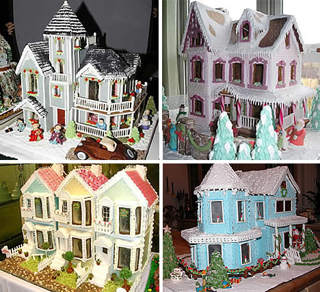Sweet Christmas Inspiration Served by Jaw Dropping DIY Gingerbread Houses homesthetics (26)