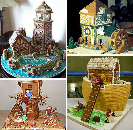 Sweet Christmas Inspiration Served by Jaw Dropping DIY Gingerbread Houses homesthetics (27)