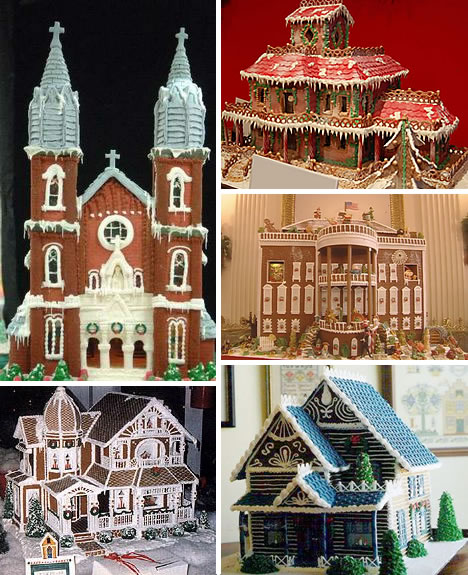 Sweet Christmas Inspiration Served by Jaw Dropping DIY Gingerbread Houses homesthetics (28)