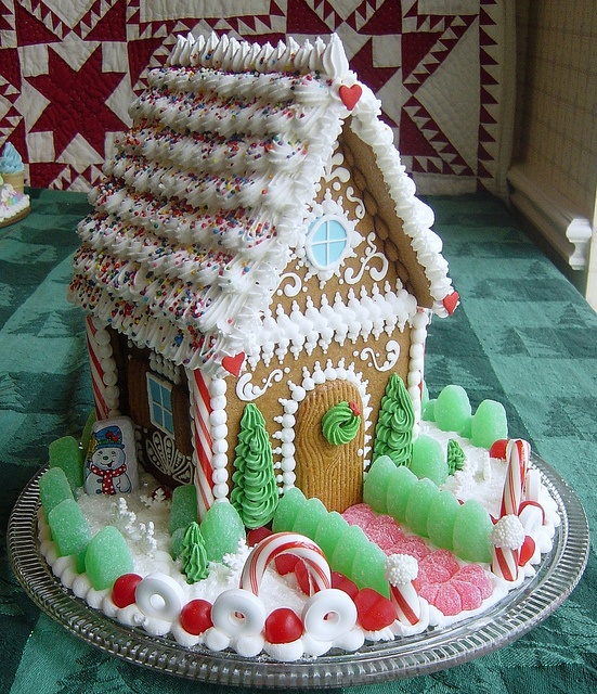 Sweet Christmas Inspiration Served by Jaw Dropping DIY Gingerbread Houses homesthetics (3)