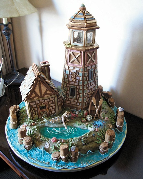 Sweet Christmas Inspiration Served by Jaw Dropping DIY Gingerbread Houses homesthetics (5)