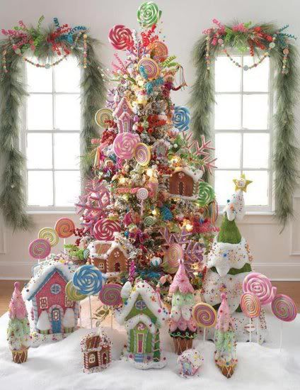 the most colorful christmas trees and decorations you have ever seen homesthetics 10 - Pastel Christmas Decorations