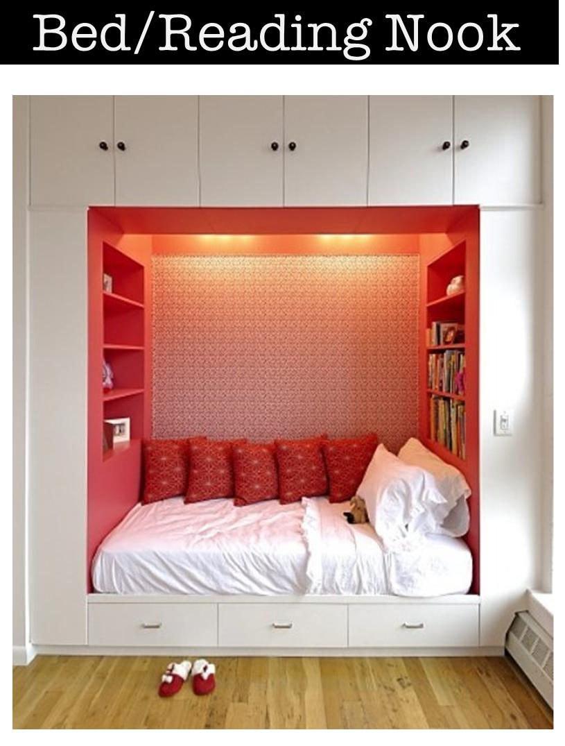 9 Mix The Sleeping Area With A Reading Nook