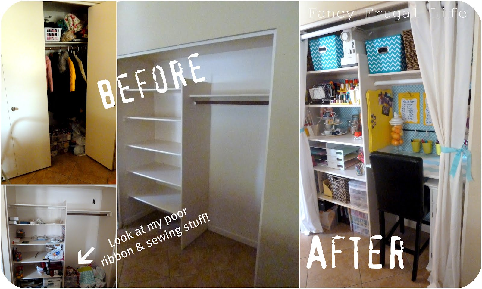 How to Transform a Closet into a Pantry