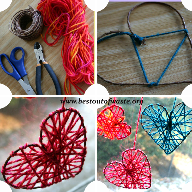 Try these 40 simple diy string projects now for Diy craft projects easy