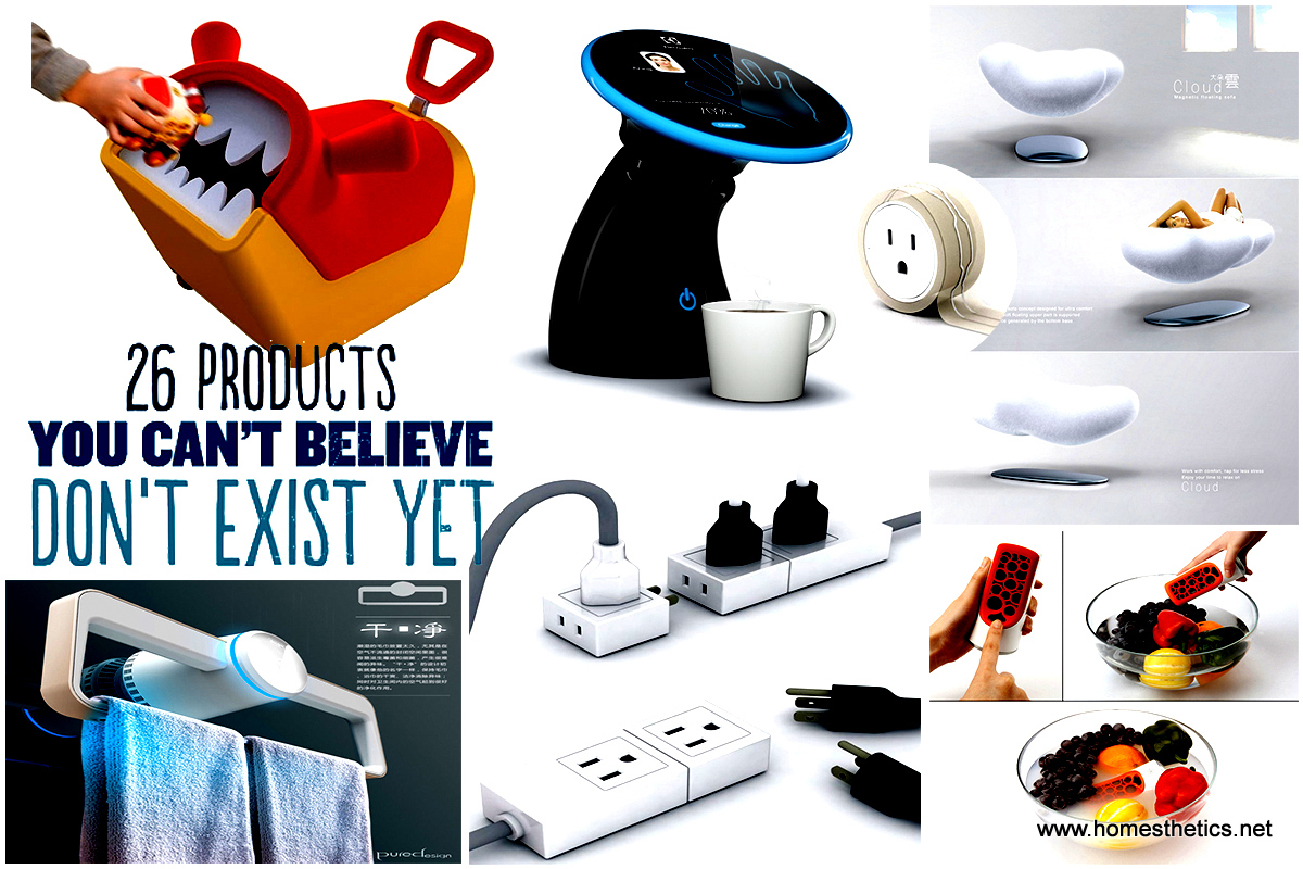 26 Genius Concept Items You Can\'t Believe Don\'t Exist Yet - Patent ...