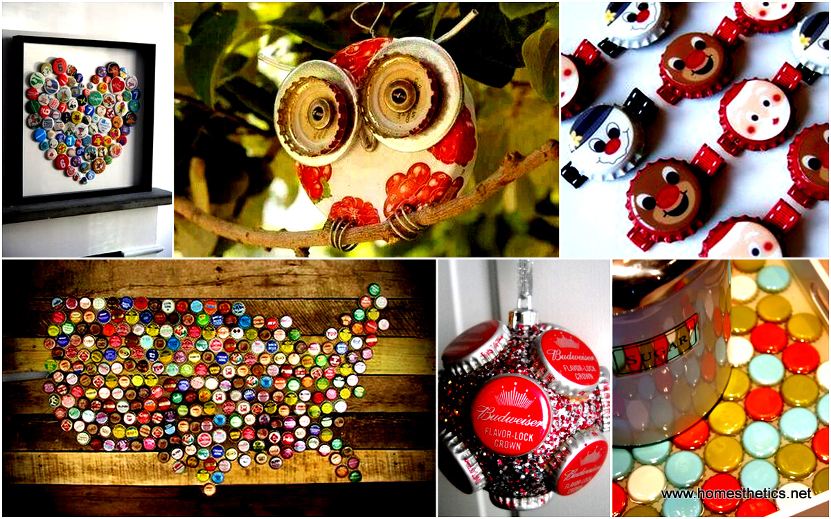 35 fun ways of reusing bottle caps in creative projects solutioingenieria