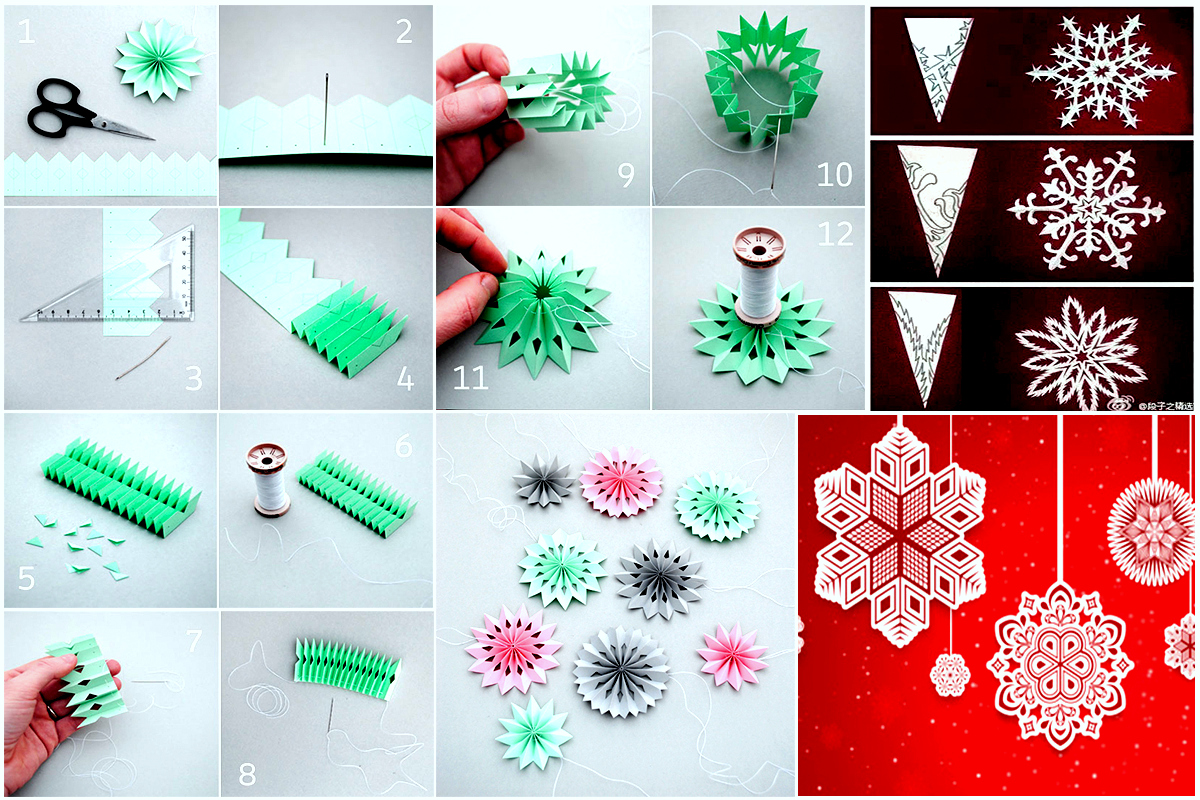 DIY Paper Medallions Miniaturized & DIY Paper Snowflakes Here To Beautify Your Holidays [Detailed Guide] (2)11