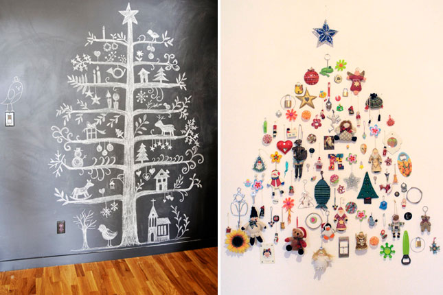 1 40 creative and inspiring ideas for a diy non traditional christmas tree project homesthetics