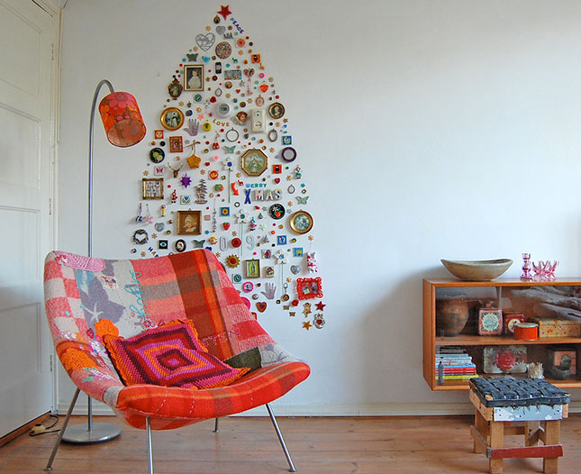 1 40 Creative and Inspiring Ideas For a DIY Non-Traditional Christmas Tree Project homesthetics (18)