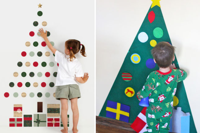 Non Traditional Christmas Tree.40 Creatived And Inspiring Ideas For A Diy Non Traditional