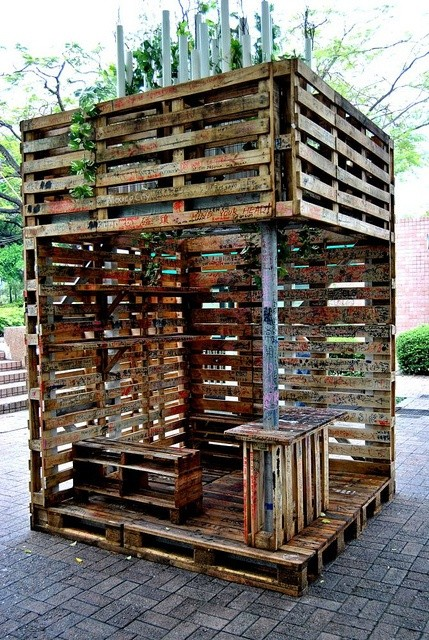 Great 20 Exceptionally Creative Ideas On Beautiful Furniture Made Out Of Upcycled  Pallets Homesthetics (14)