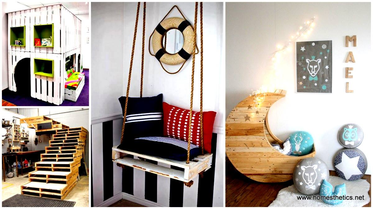 20 Exceptionally Creative Ideas On Beautiful Furniture Made Out Of Recycled  Pallets Part 51