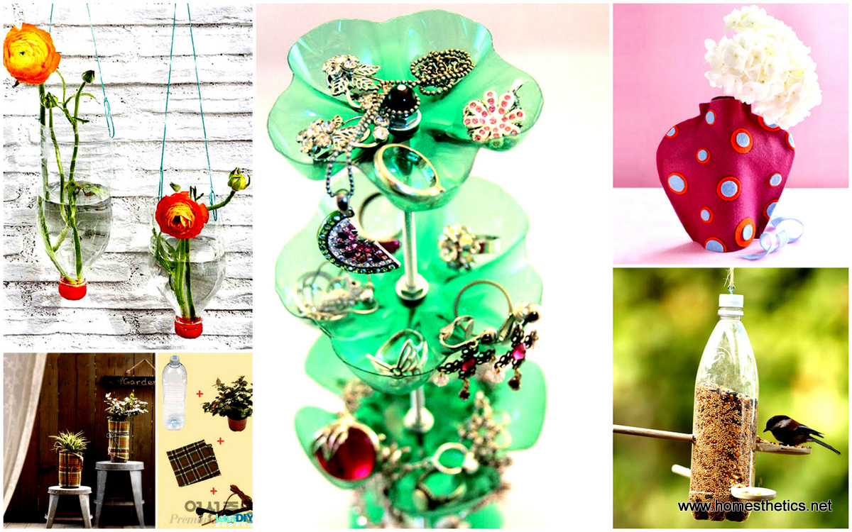 25 diy items to do with empty plastic bottles inspiring for Diy recycled plastic bottles
