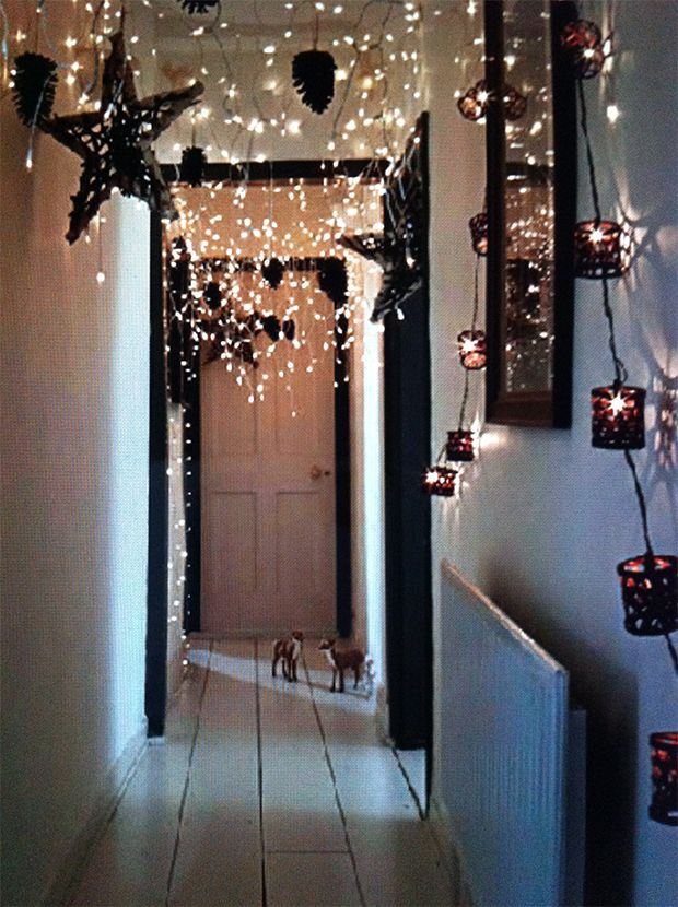 Christmas Lights Room Decor Pinterest