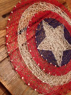 DIY Thread and Nails String Art