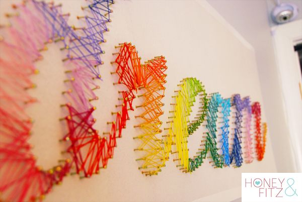 28 DIY Thread and Nails String Art Projects That Will Beautifully Reshape Your Interior Decor homesthetics decor (16)