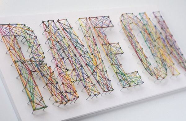 28 Diy Thread And Nails String Art Projects That Will Beautifully