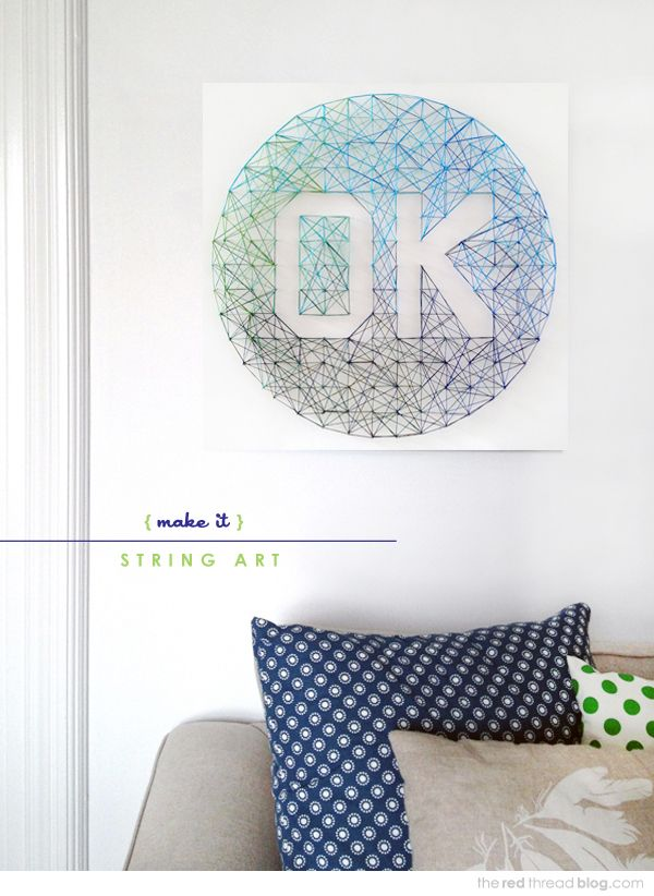 28 DIY Thread and Nails String Art Projects That Will Beautifully Reshape Your Interior Decor homesthetics decor (23)