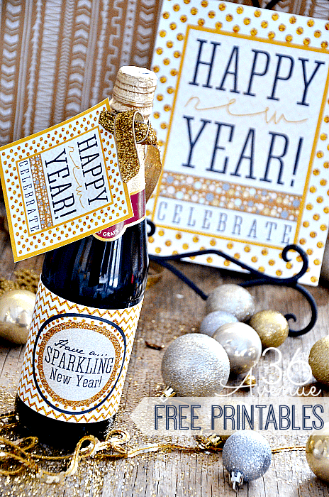 30+ Exceptionally Shiny DIY Glitter Project Ideas For The New Years Eve Party ! (2)